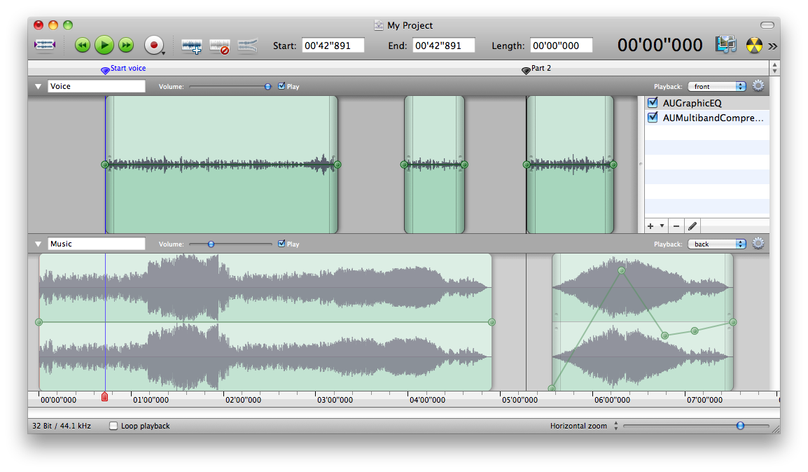 Amadeus Pro 1.4.1 Sound Editor for Mac