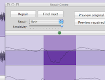 Amadeus Pro - Audio waveform editor / sound and voice recorder for